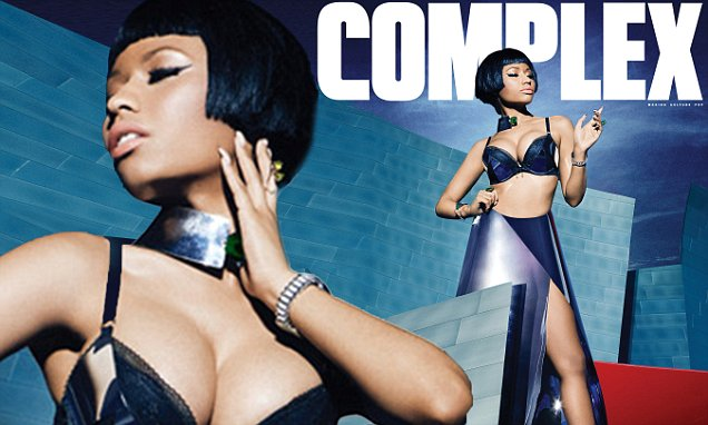 Nicki Minaj Covers Dec/Jan Complex Magazine