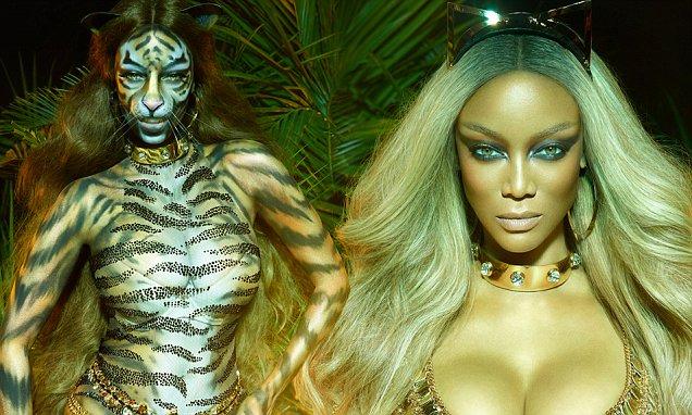 PAPER Magazine / Tyra Banks Transformation / Tygra